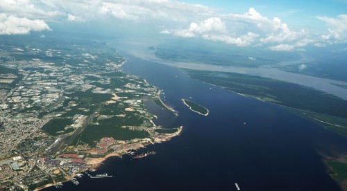 AM Manaus aeroport  et rencontre des eaux 1