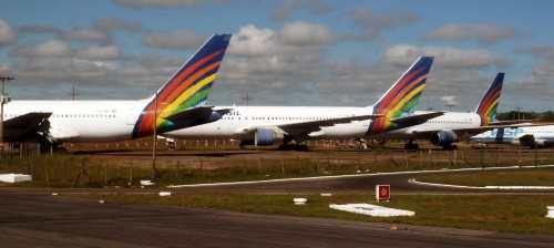 Avions abandonnes Brasilia 2011