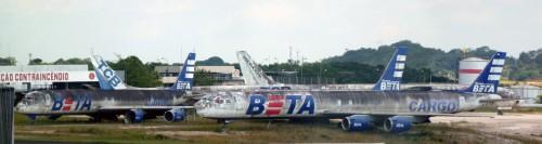 Avions abandonnes a Manaus