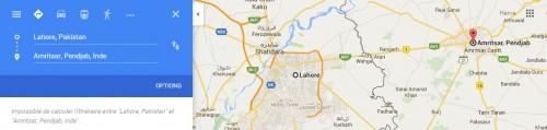 Lahore Amritsar