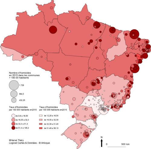 Favelas Bresil Carte.La Carte Du Crime A Sao Paulo Entre Suede Et Afrique Du Sud